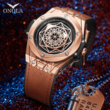 [Onola] Unique Geometry Designer Watch