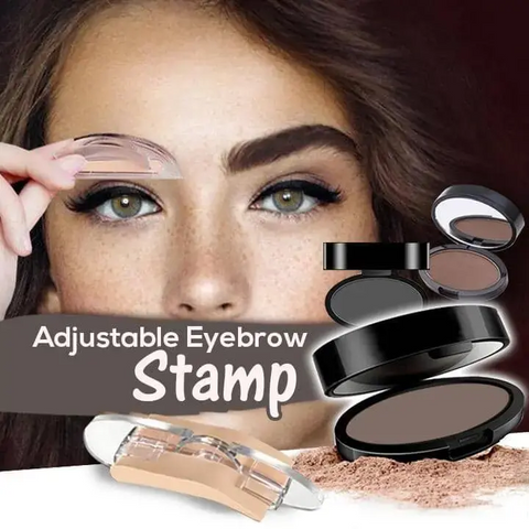 Adjustable Eyebrow Stamp Set