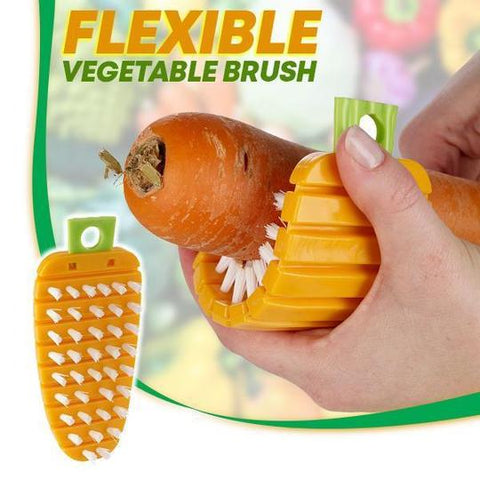 Flexible Vegetable Brush