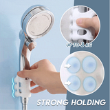 Hands-free shower head suction cup