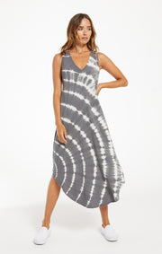Z Supply Reverie Spiral Tie Dye Dress