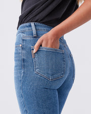 Hoxton Crop High Rise Skinny Jean by Paige