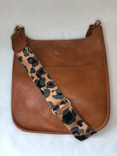 Ahdorned Vegan Messenger bag