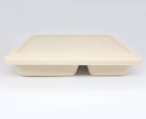 100% Biodegradable Bamboo Fiber Tray Lid