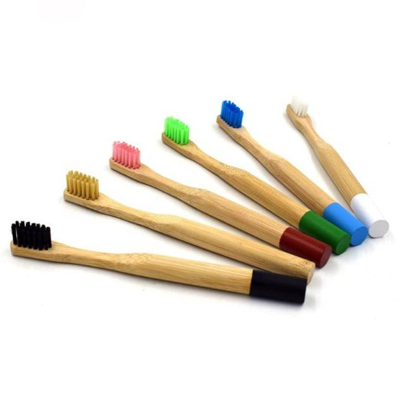Bamboo Toothbrush 100% Eco Friendly | Eco Friendly Bathroom Accessories - ninobamboo