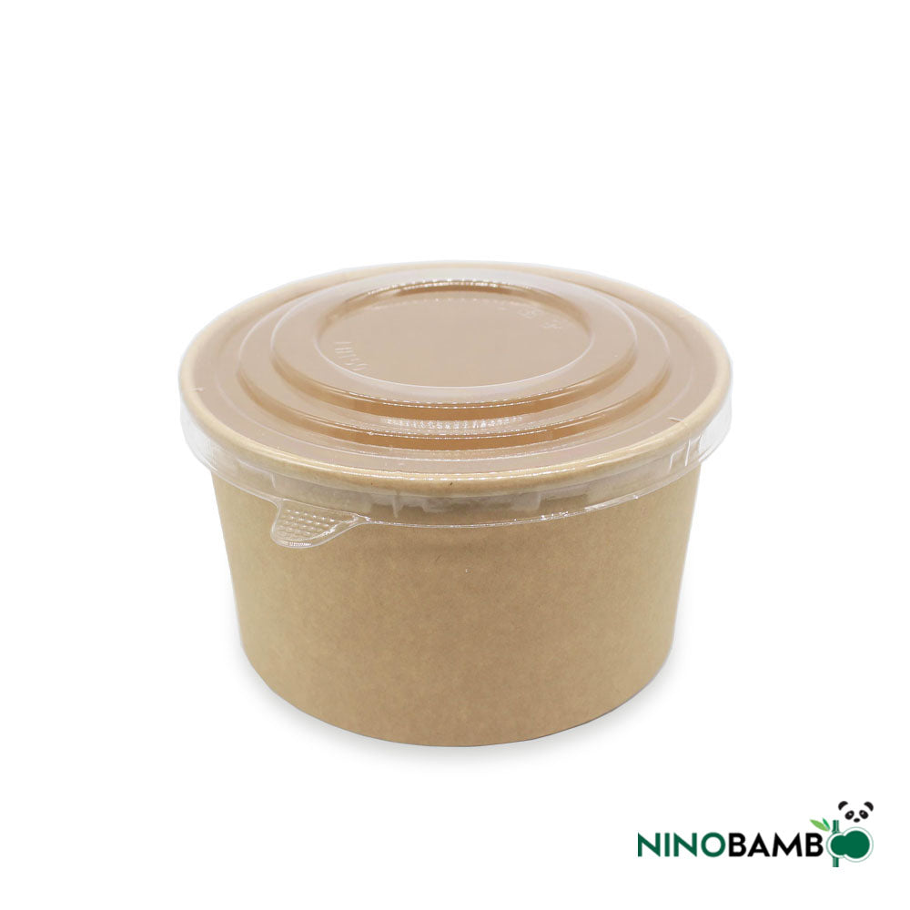 1000ml Kraft Paper Bowl with Lid