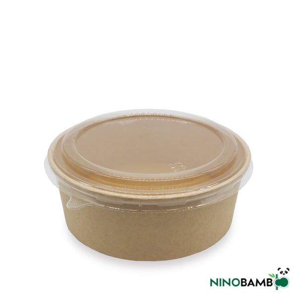 1300ml Kraft Paper Bowl with Lid