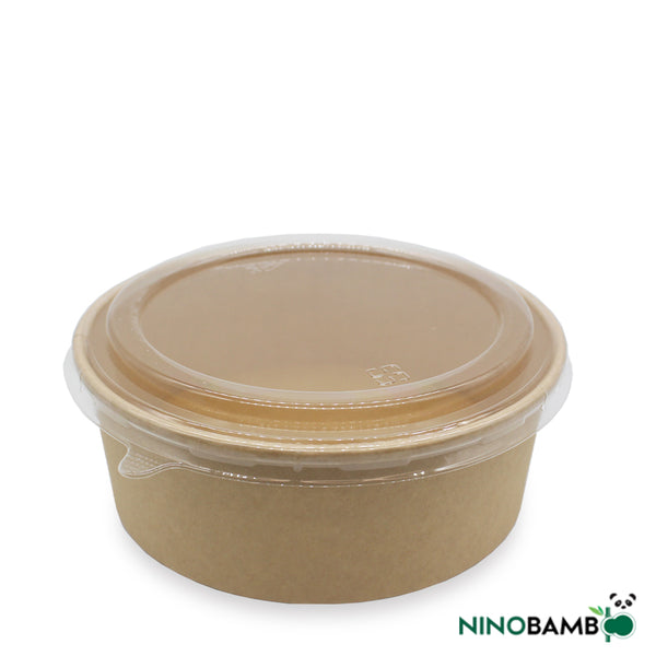 1500ml Kraft Paper Bowl with Lid