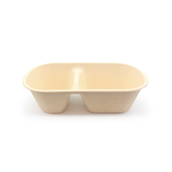 1100ml Fast Food Box Compostable Bamboo Fiber | Eco Friendly Takeaway Boxes