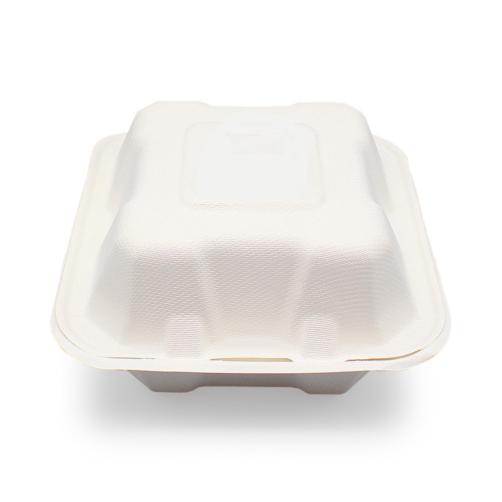 100% Biodegradable Eco-friendly Sugarcane Bagasse Clamshell | Bagasse Bowl