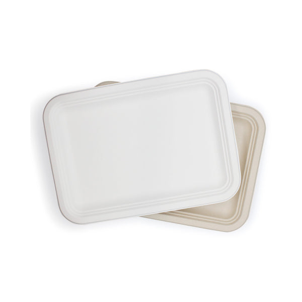 "Eco-friendly Sugarcane Bagasse Meat Rectangle Plate 14""x10"""