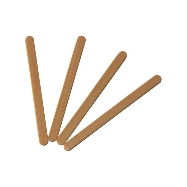 Disposable Wooden Coffee Stirrers - ninobamboo