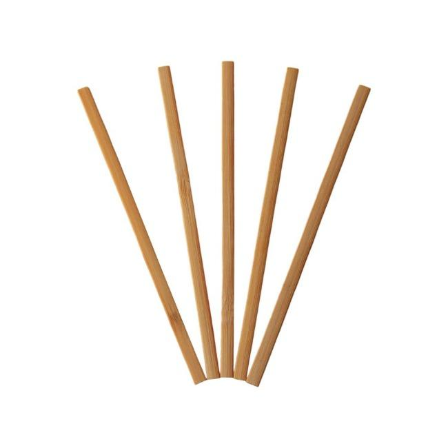Disposable Square Bamboo Coffee Stirrer - ninobamboo
