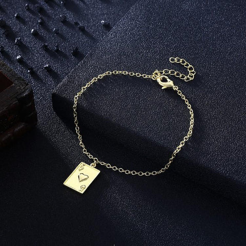 Jack of Hearts Bracelet in 18K Gold Plated - Clayton White