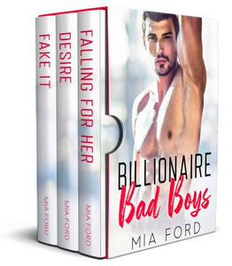 Billionaire Bad Boys - A 3 Book Boxed Set