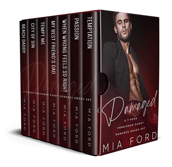 Damaged - A 7 Book Forbidden Daddy Romance Box Set