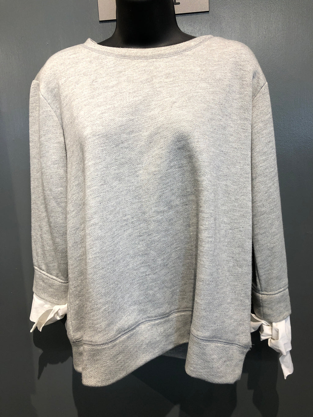 Grey Crew Neck Sweatshirt Size Medium
