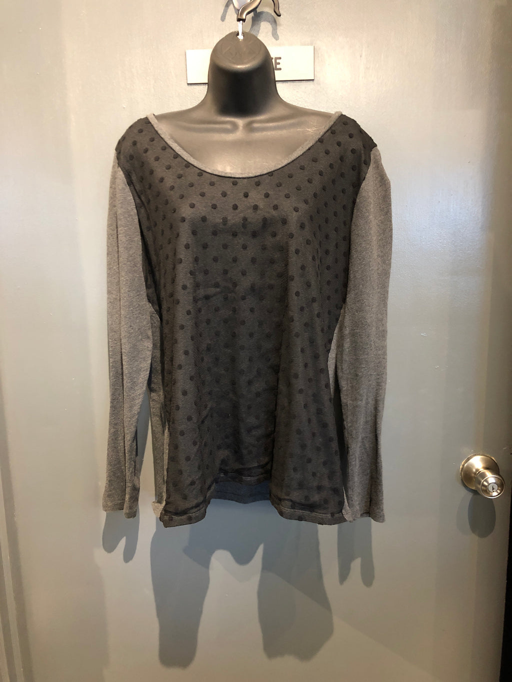 Large Loft Polkadot Top