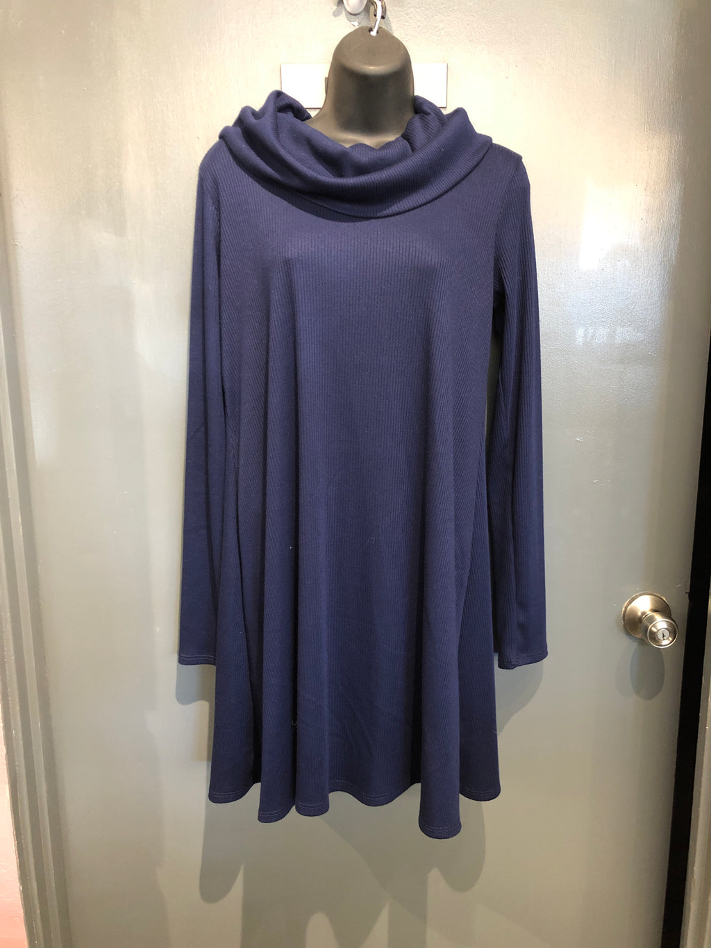 Medium Nine Britton Turtleneck Dress