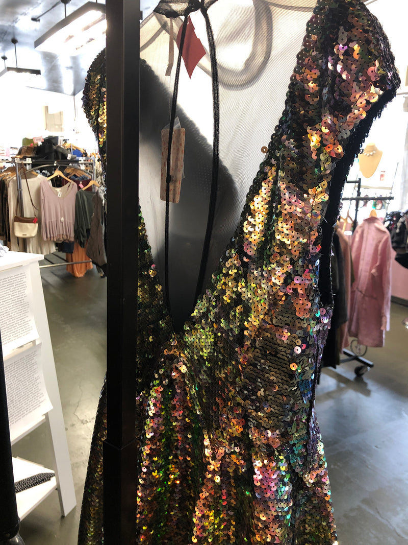 Free People Mermaid Sequin Dress