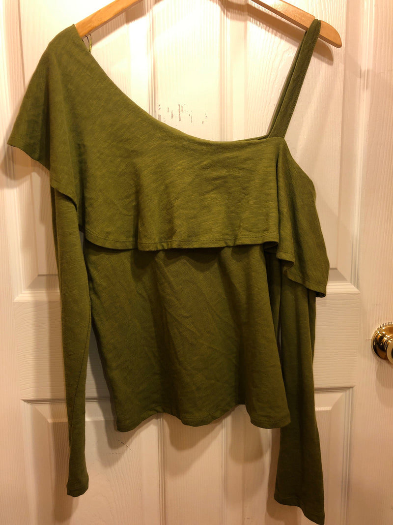 NWT Postmark olive long sleeve sz Large