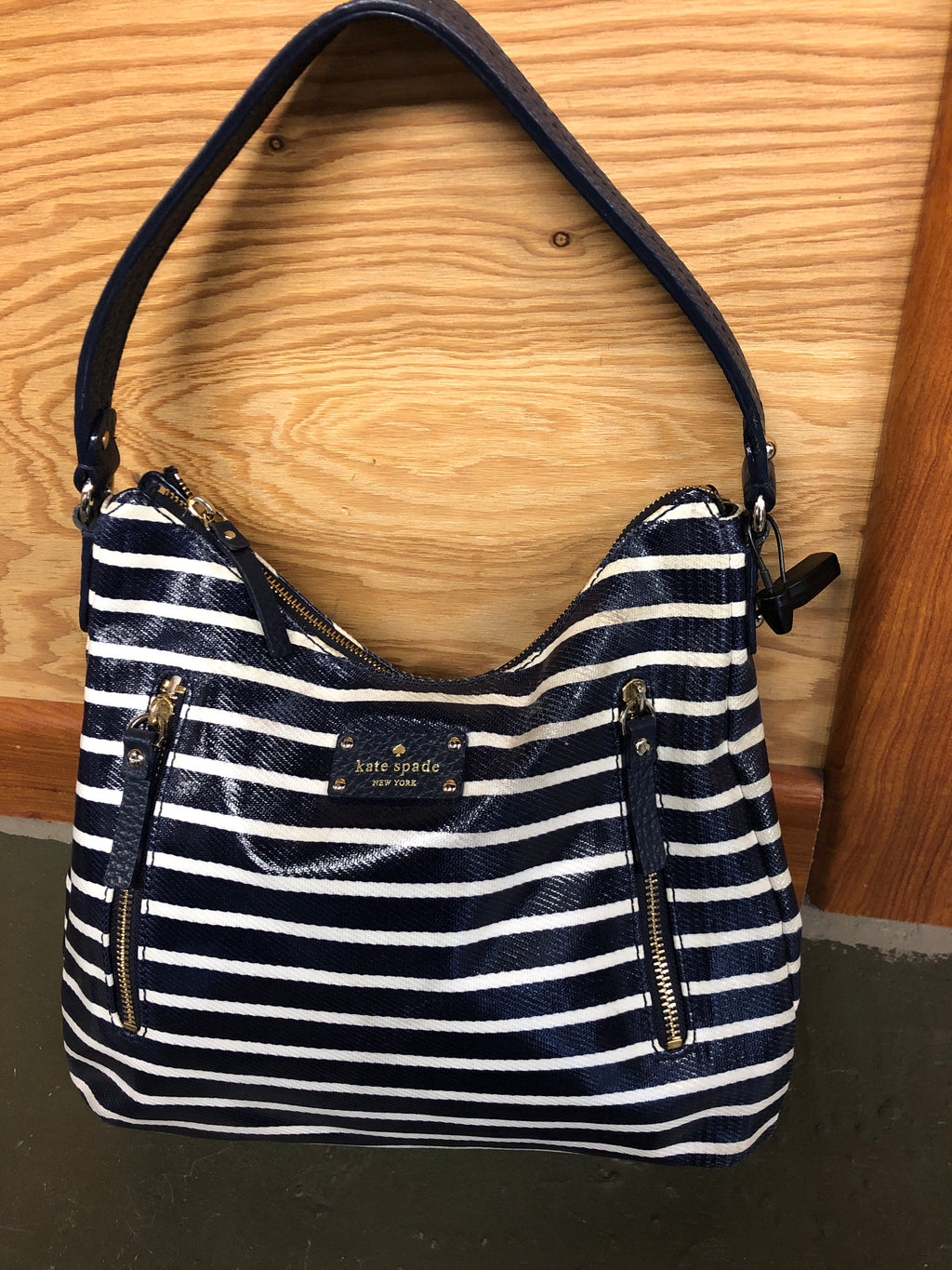 Kate Spade Navy & White Bag
