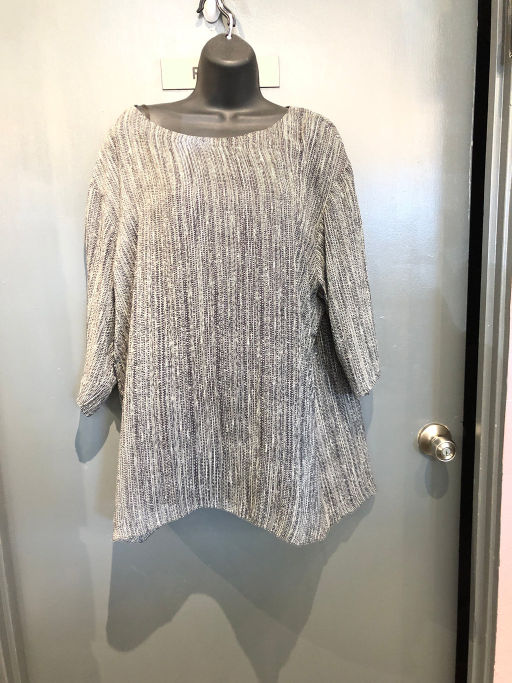 Large Eileen Fisher Silk Blouse