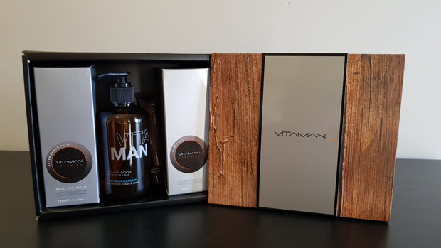 Mens Gift Box - The Essentials Shave Set.