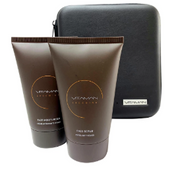 Face Moisturiser and Face Scrub Pack - in FREE Amenity Gift Case.