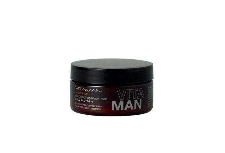 Matt Mud For Men - Vitaman Natural Hair Styling Product-Max Hold