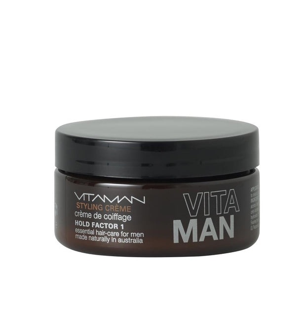 Styling Creme for Men Vitaman Natural Hair Styling Product 100g