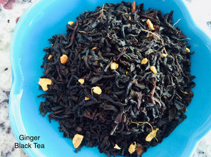 Ginger Black Tea 4oz