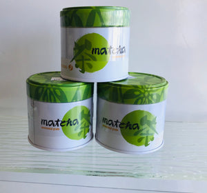 Matcha Green Tea 2oz tin