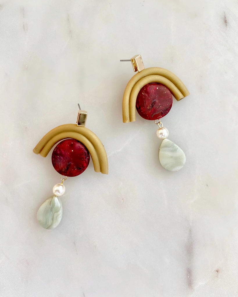 WILLOW - Red Sea Jasper & Jade