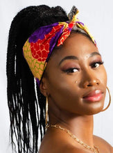 Load image into Gallery viewer, Ngemé African Print Bandana - Arrey Of