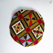 Load image into Gallery viewer, Fú-ambi African Print Bonnet - Arrey Of