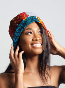 Bessem & Tabi African Print Reversible Bucket Hat - Arrey Of