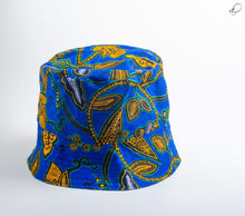 Load image into Gallery viewer, Fú-ambi & Keno Reversible African Print Bucket Hat - Arrey Of