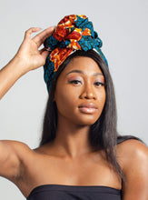 Load image into Gallery viewer, Bessem African Print Head wrap - Arrey Of