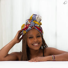 Load image into Gallery viewer, Chu-Chu African Print Head wrap - Arrey Of