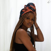 Load image into Gallery viewer, Nené African Print Head wrap - Arrey Of