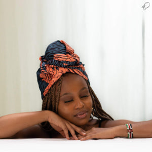 Nené African Print Head wrap - Arrey Of