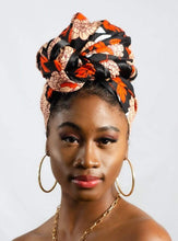 Load image into Gallery viewer, Nép African Print Headwrap - Arrey Of