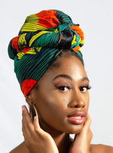 Load image into Gallery viewer, Pépép African Print Head wrap - Arrey Of