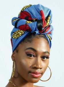 Tontó African Print Head wrap - Arrey Of