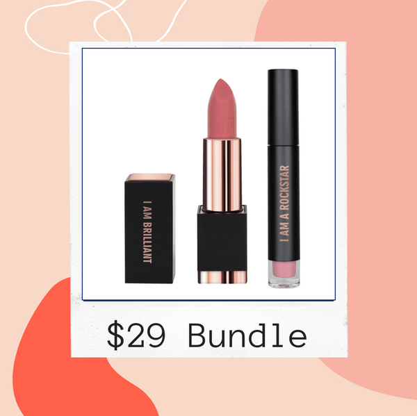 BUNDLE SALE -REALHER MAKEUP Gloss & Lipstick - $29