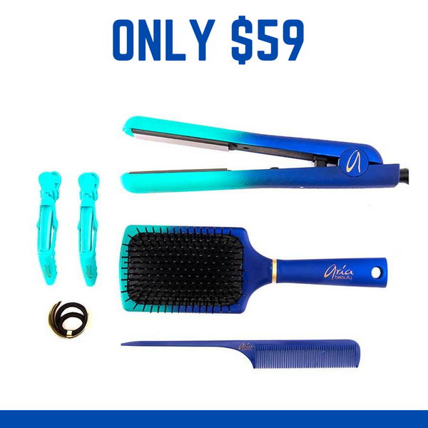 Relaxus Beauty  Super Glam Hair Styling Set - Peacock