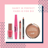 BUNDLE SALE - BARRY M PERFECT CASE $15