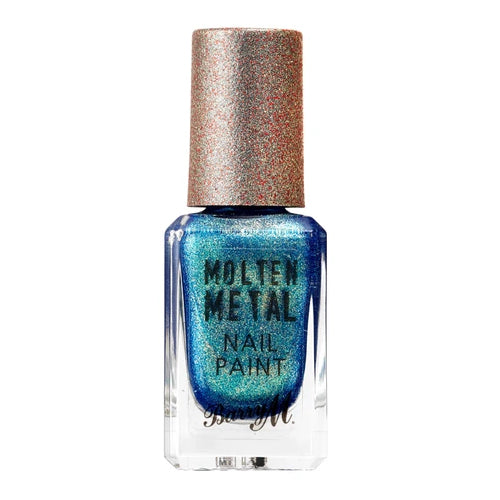 Molten Metal Crystal Blue