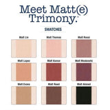 Meet Matt(e) Trimony Palette